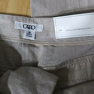 Size 10 women khakis wide leg brand new